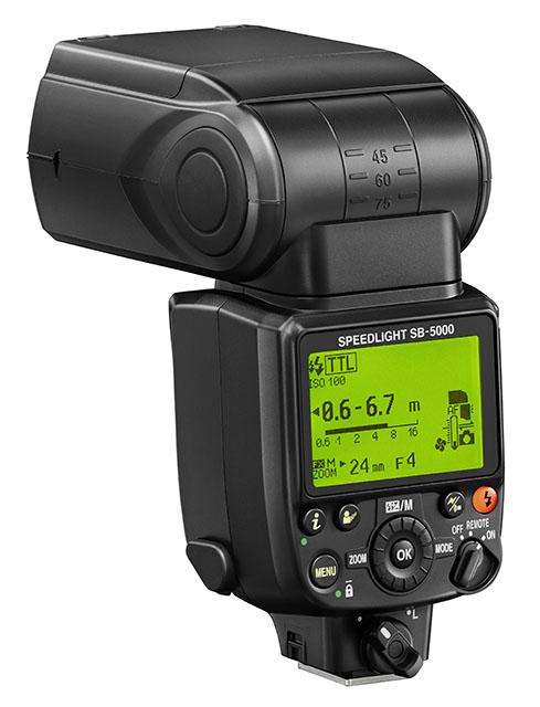 Nikon SB-5000 világelső hűtési rendszerrel tervezték meg.