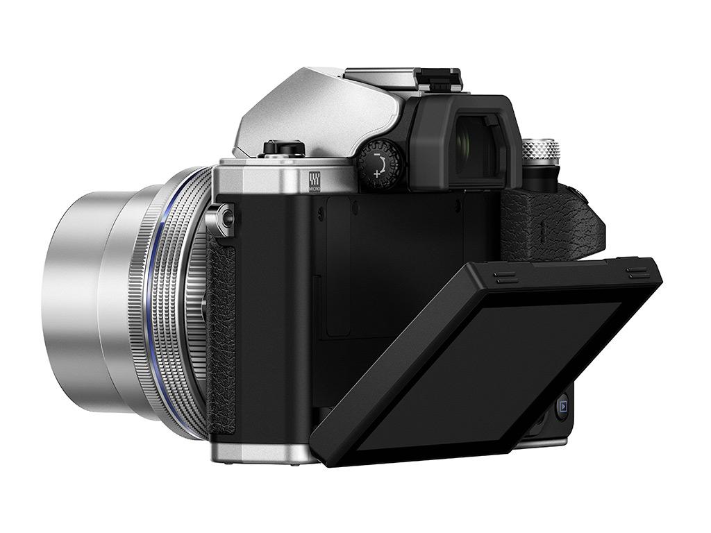 Olympus OM-D E-M10 Mark II 3? méretű, dönthető lcd kijelzőt kapott.