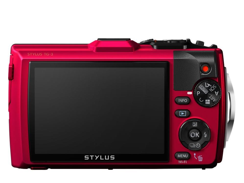 A Stylus Tough TG-3 LCD kijelzője 3