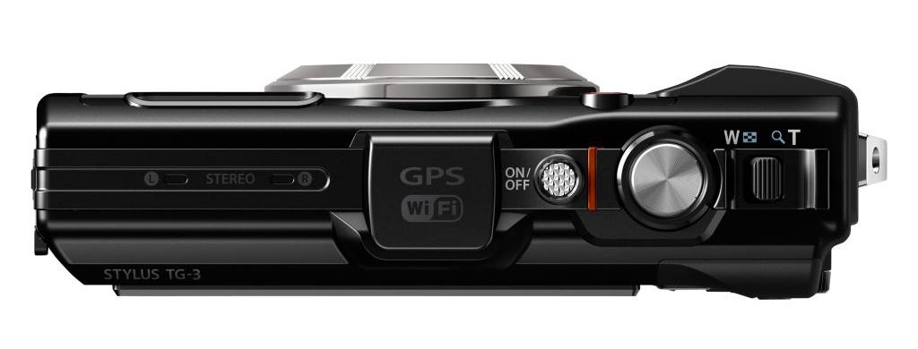 Olympus Stylus Tough TG-3-ban GPS, Wifi található