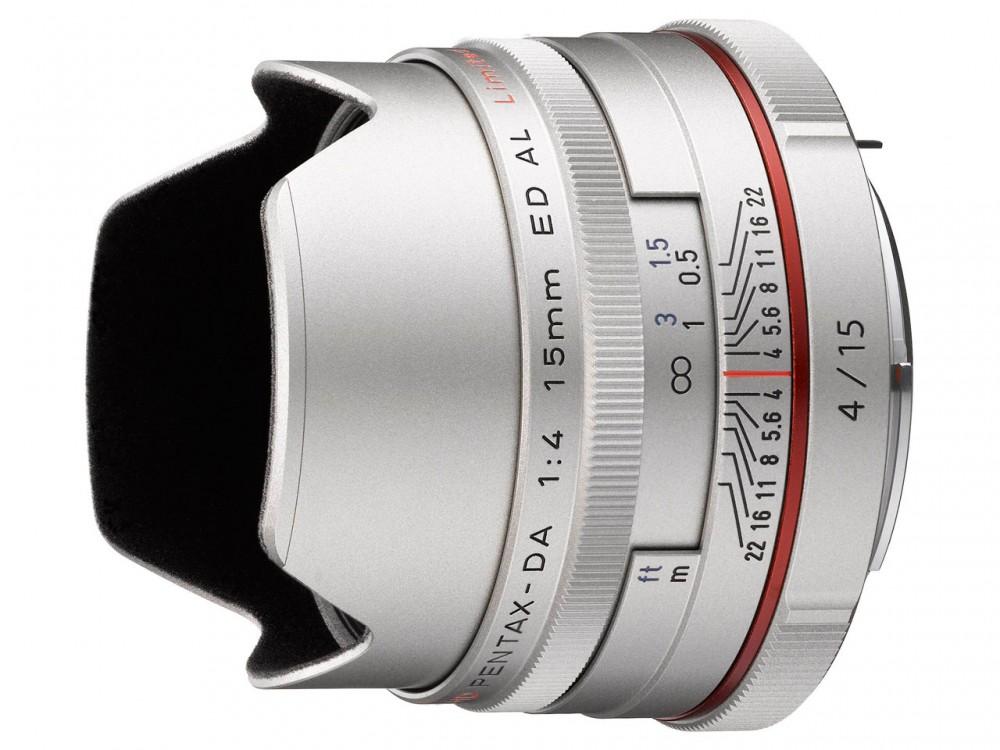 HD PENTAX-DA 15mm F4ED AL Limited szürke