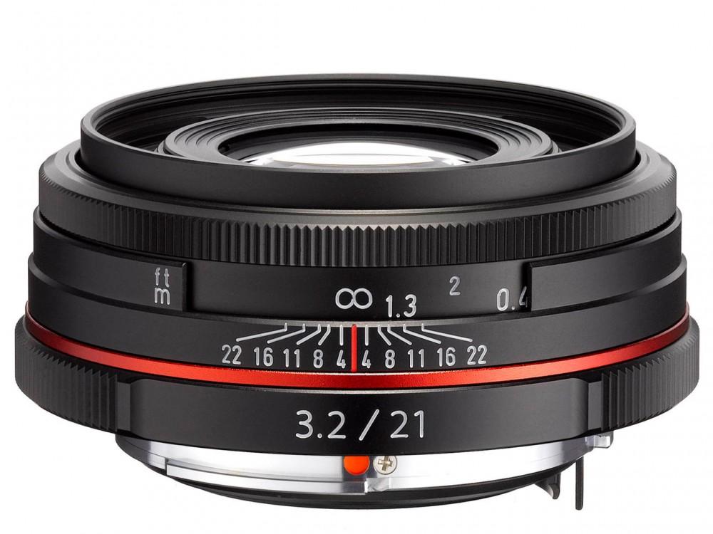 HD PENTAX-DA 21mm F3.2 AL Limited fekete