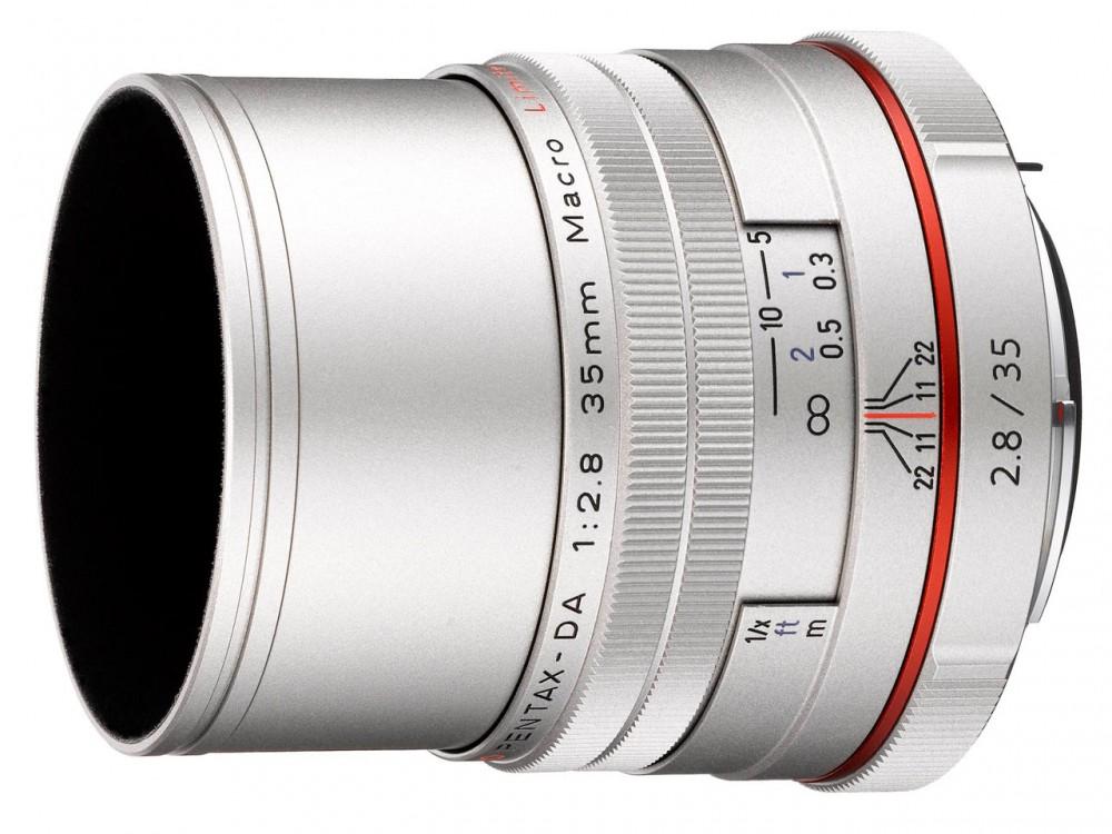 HD PENTAX-DA 35mm F2.8 Macro Limited szürke