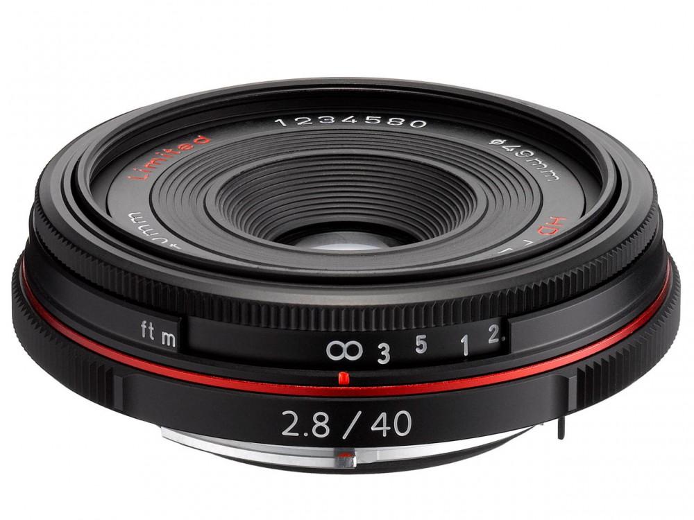 HD PENTAX-DA 40mm F2.8 Limited fekete