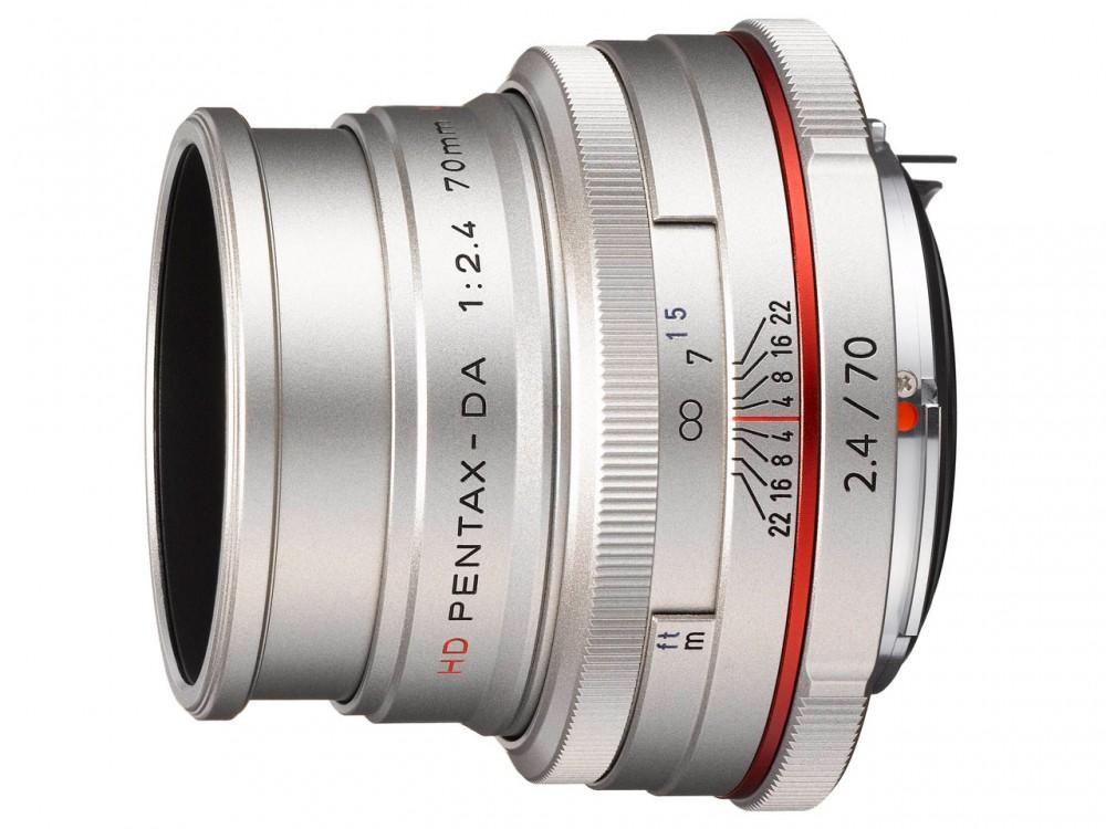 HD PENTAX-DA 70mm F2.4 Limited szürke