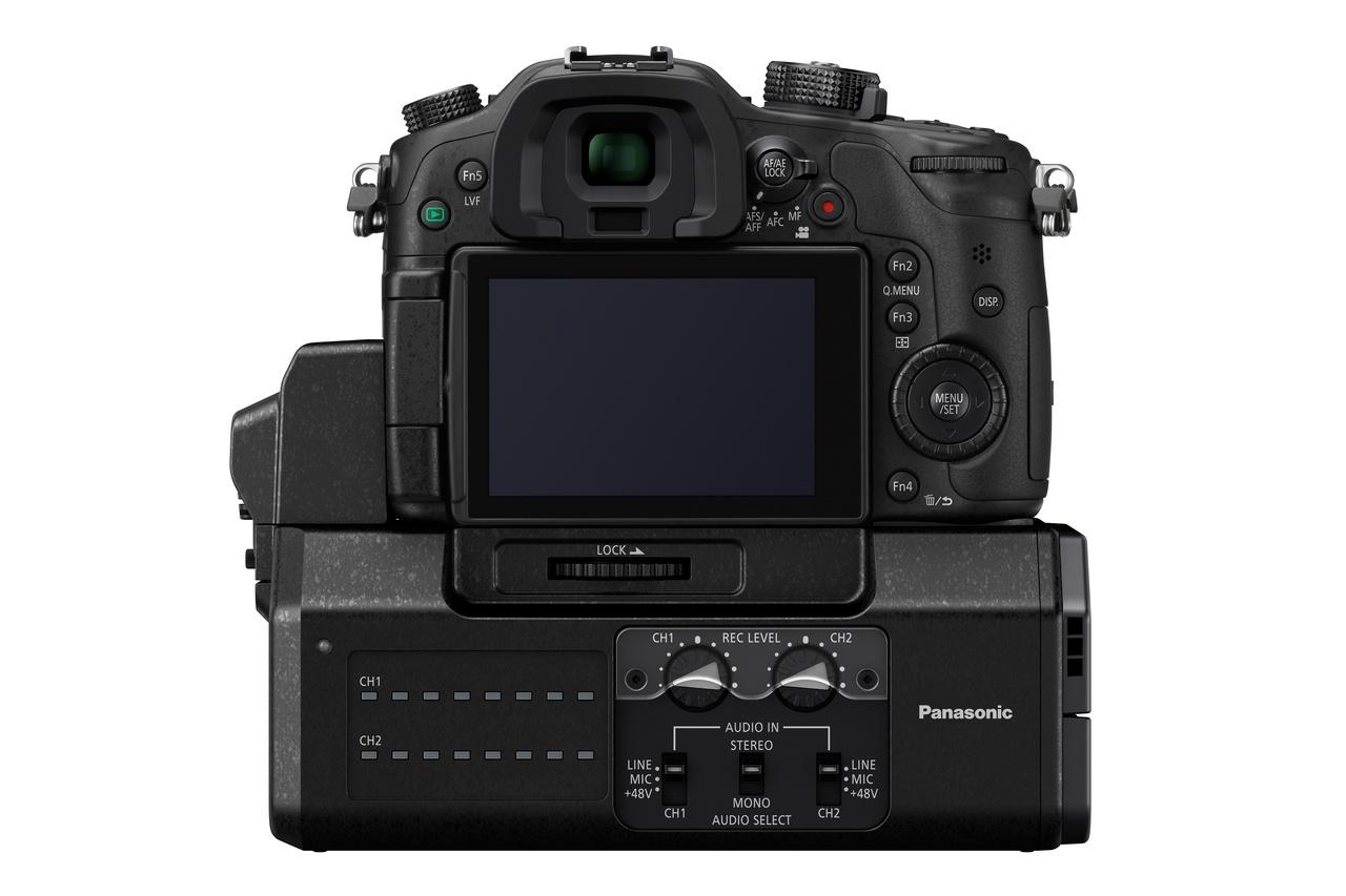Panasonic Lumix DMC-GH4 és a DMW-YAGH Interface Unit