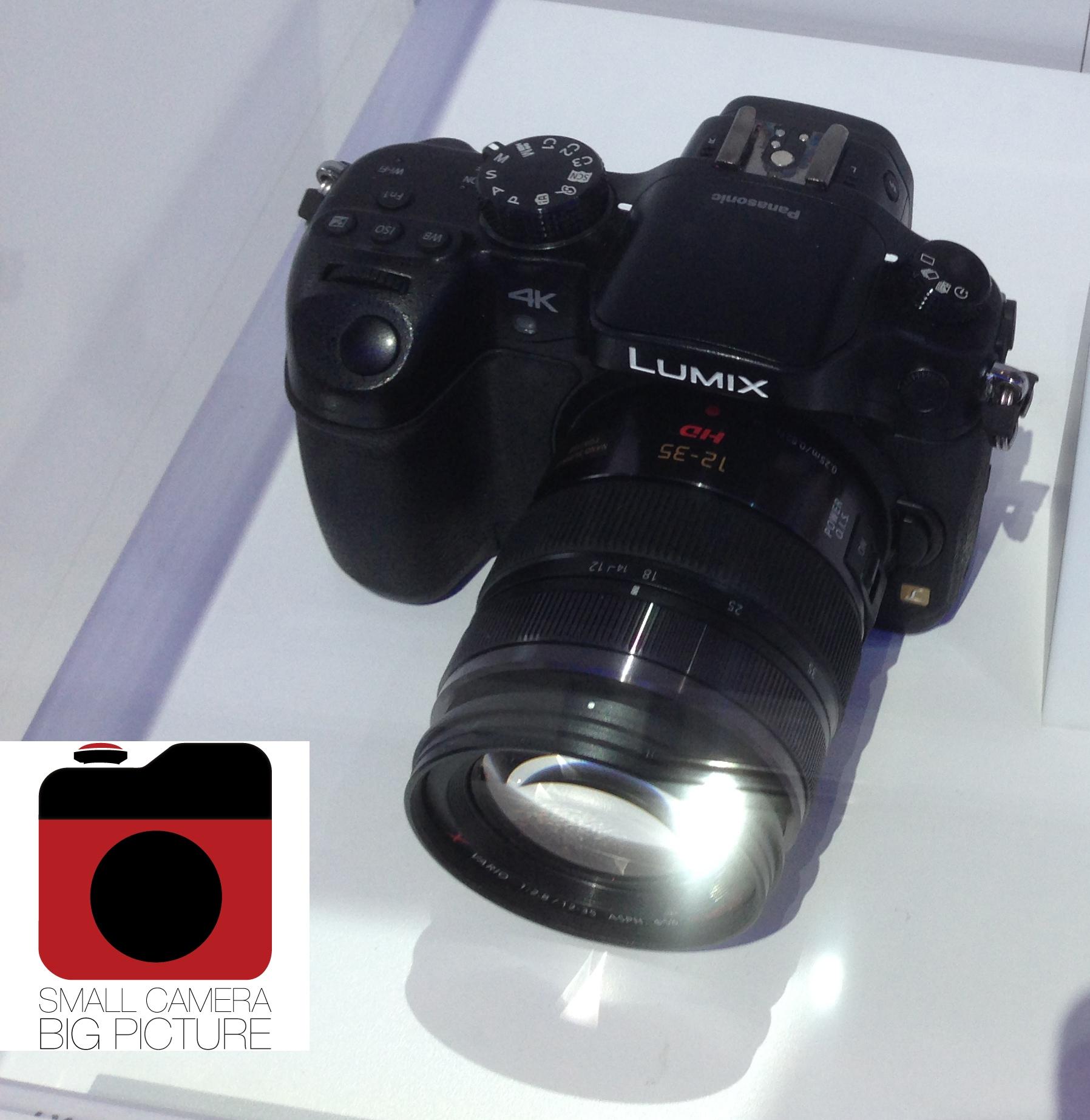 Panasonic Lumix GH4 a CES kiállításon