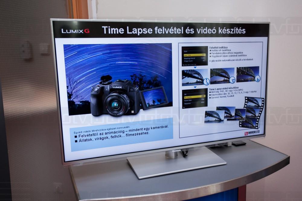 Egy G LUMIX beépített time-lapse funkcióval is fel van vértezve