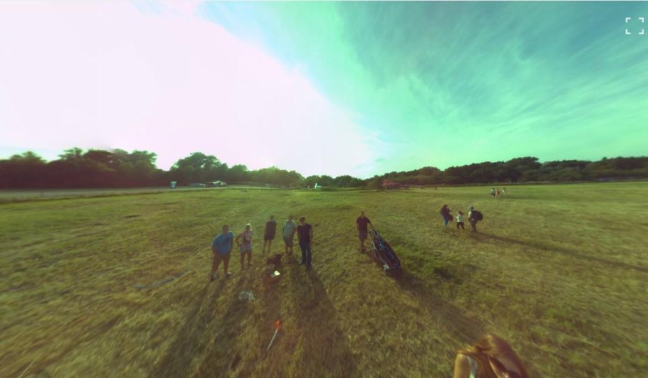 Panono labdával készült felvétel