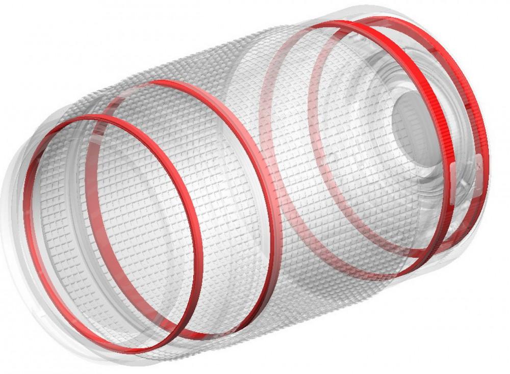 HD Pentax DA 55-300mm F4-5,8 ED WR szigetelő gyűrűi
