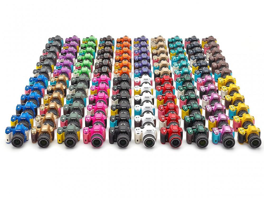 120 színváltozatban lesz elérhető a Pentax K-50