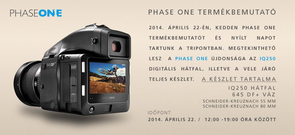 Phase One termékbemutató meghívó