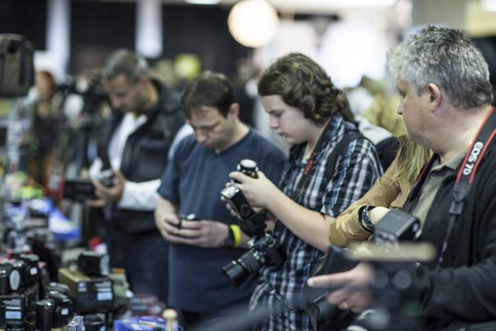 életképek a tavalyi PHOTOEXPO-ról