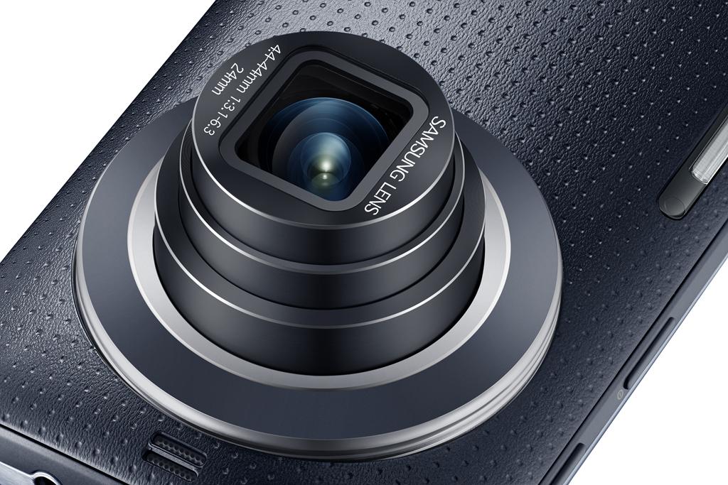Samsung Galaxy K zoommal 20.7 megapixeles képet készíthetünk.