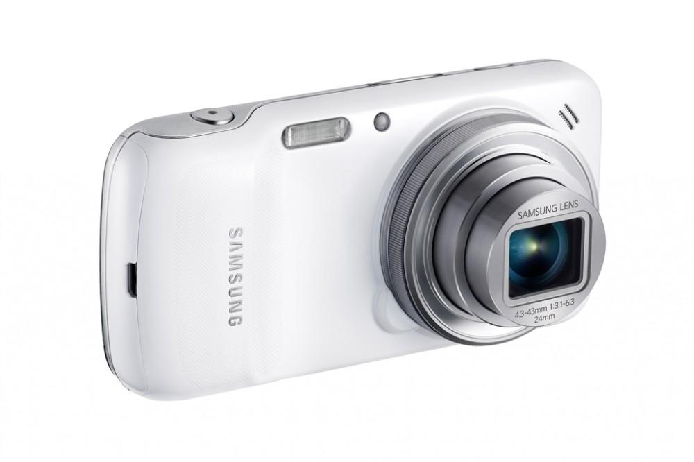 16 megapixeles CMOS szenzort kapott a Samsung Galaxy S4 zoom