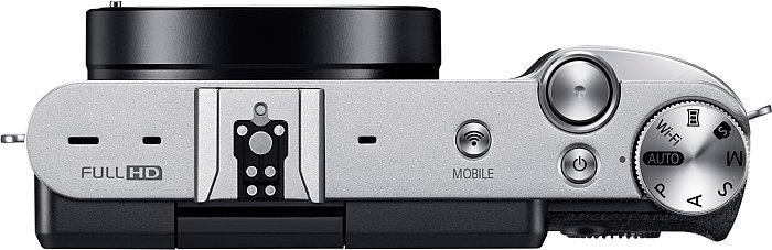 Samsung NX3000 külső vakupapuccsal rendelkezik, mivel beépített vakuja nincsen.