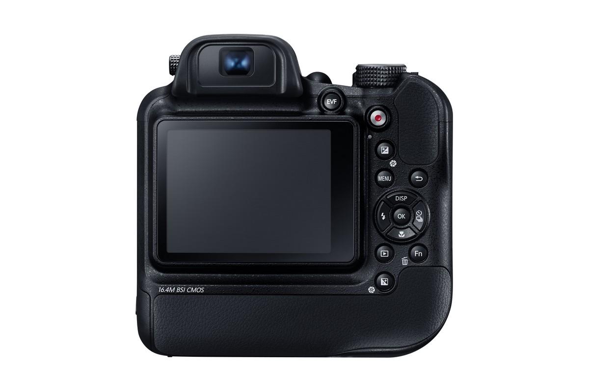 A Samsung WB200F képérzékelője hátsó-megvilágítású, 1/2,3