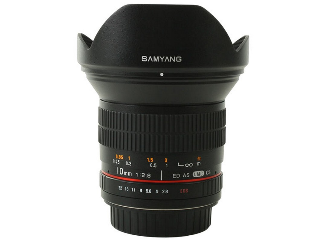 Samyang 10mm f2,8 ED AS NCS CS objektív
