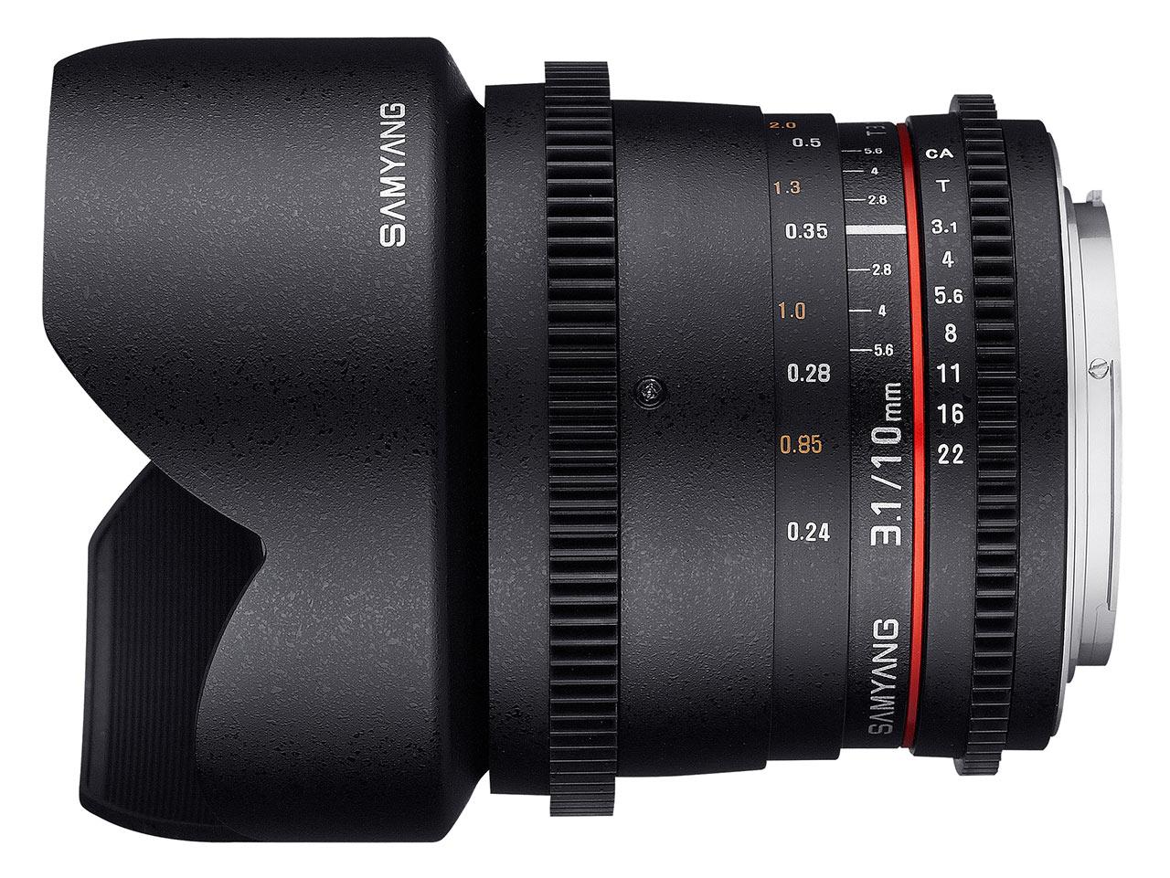 Samyang 12mm T2.2 Cine NCS CS