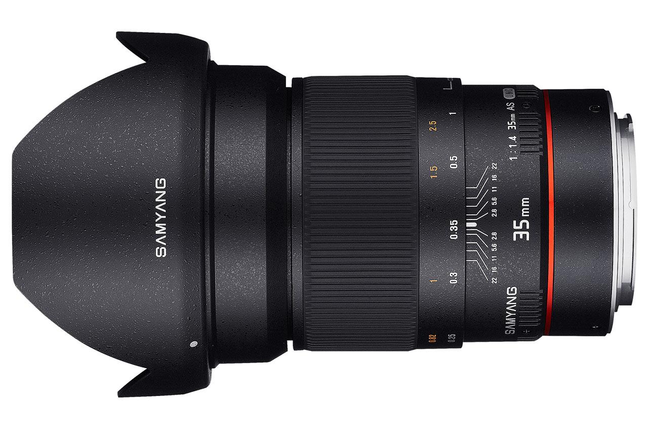 Samyang 35mm f/1,4 AS UMC AE