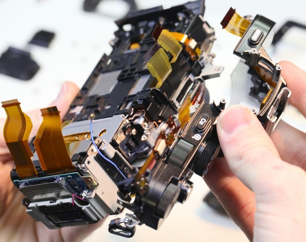 Sony 7R felülről kicsit másképpen