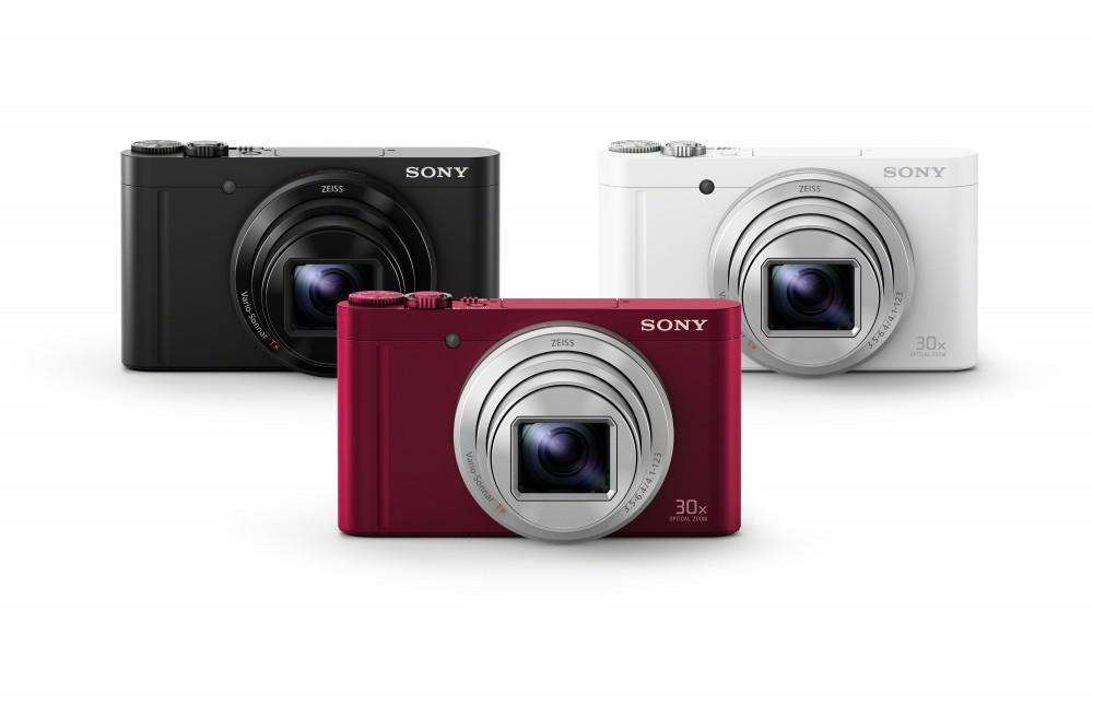 Sony DSC-WX500 három színben lesz kapható.