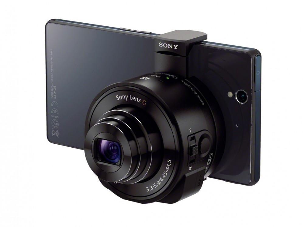 Sony QX10 egy XperiaZ-vel