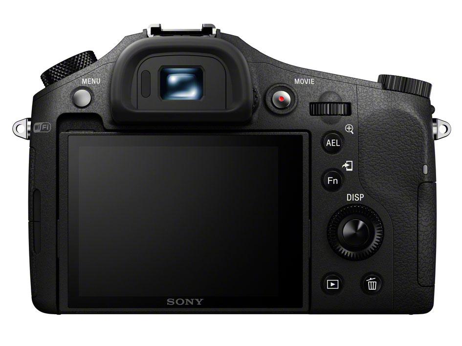 A Sony RX10 1,44 millió pixeles OLED elektronikus keresővel rendelkezik.