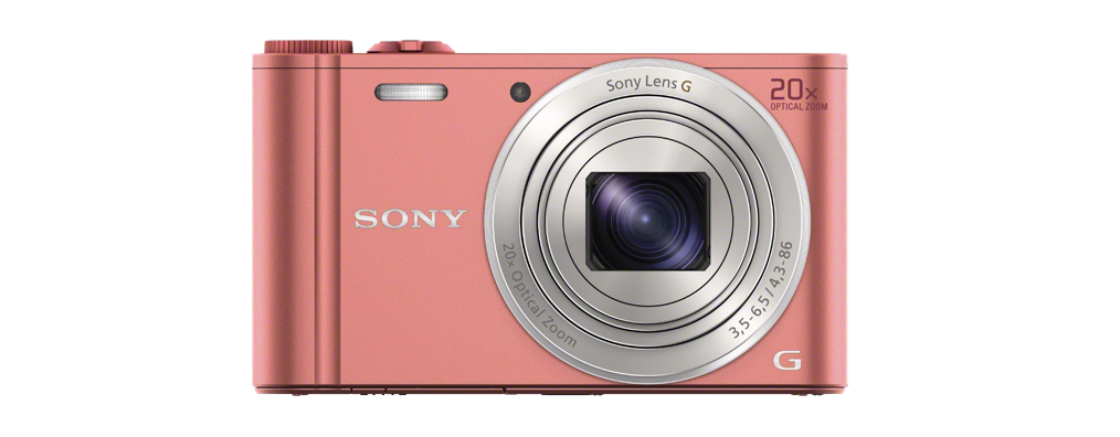 Sony Cyber-shot DSC-WX350-ös pink változata