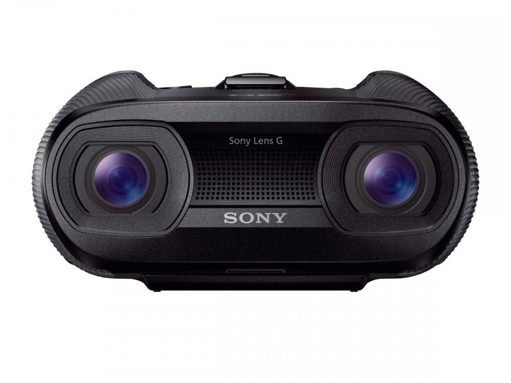 25x Sony G zoom lencsék SteadyShot Active Mode képstabilizálással