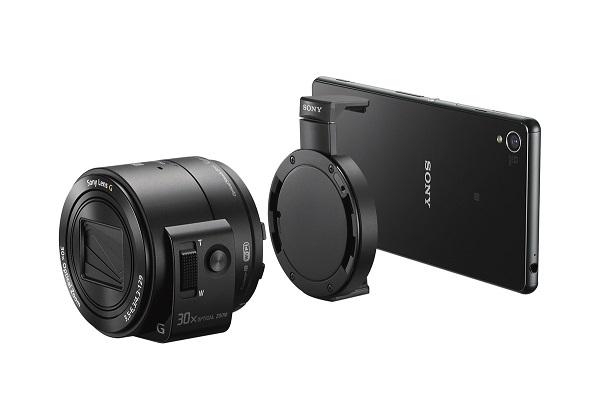 Sony DSC-QX30 könnyen rácsatlakoztatható a mobilra