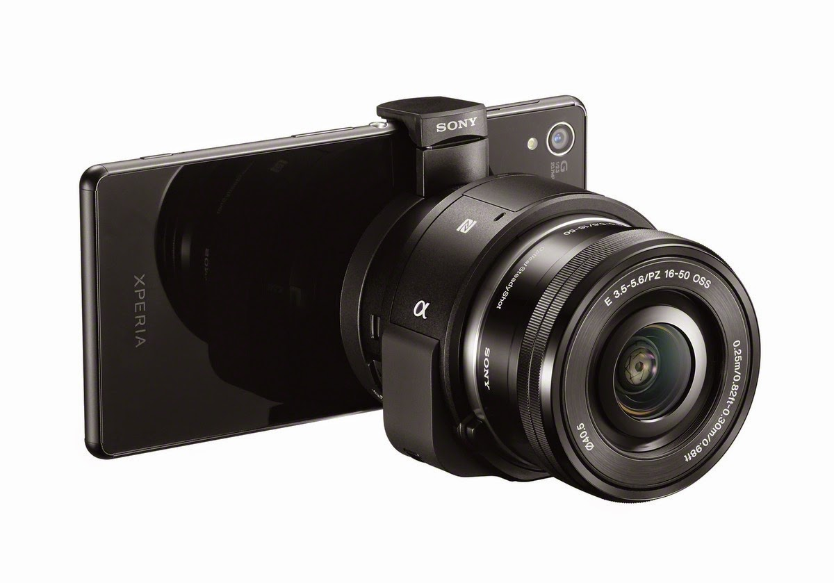 Sony ILCE-QX1 használható mobillal és mobil nélkül
