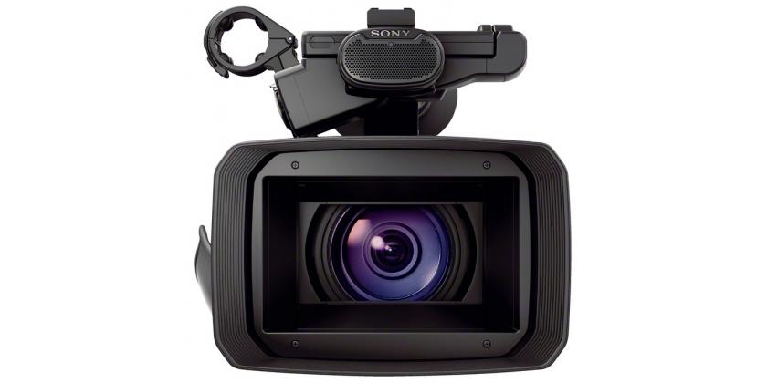Handycam FDR-AX1 optikája 20x-os zoom átfogású Sony G objektív