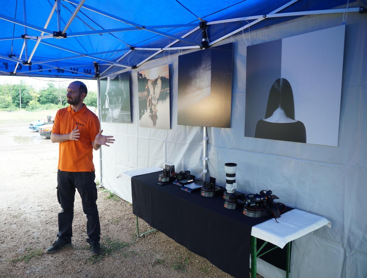 Kiss Attila termékspecialista mutatta be a Sony újdonságokat