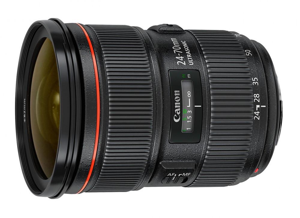 TIPA 2013 - Legjobb professzionális DSLR objektív: Canon 24-70mm f2.8 L II USM