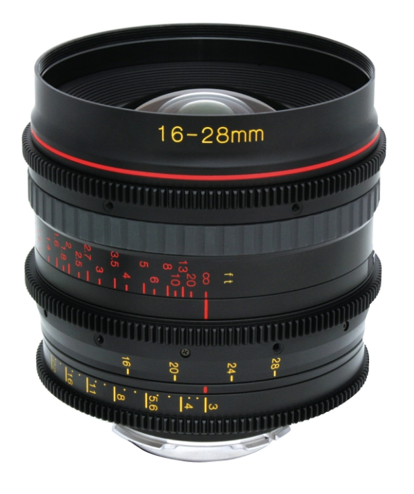 Tokina 16-28mm-es ultranagy látószögű zoomobjektív