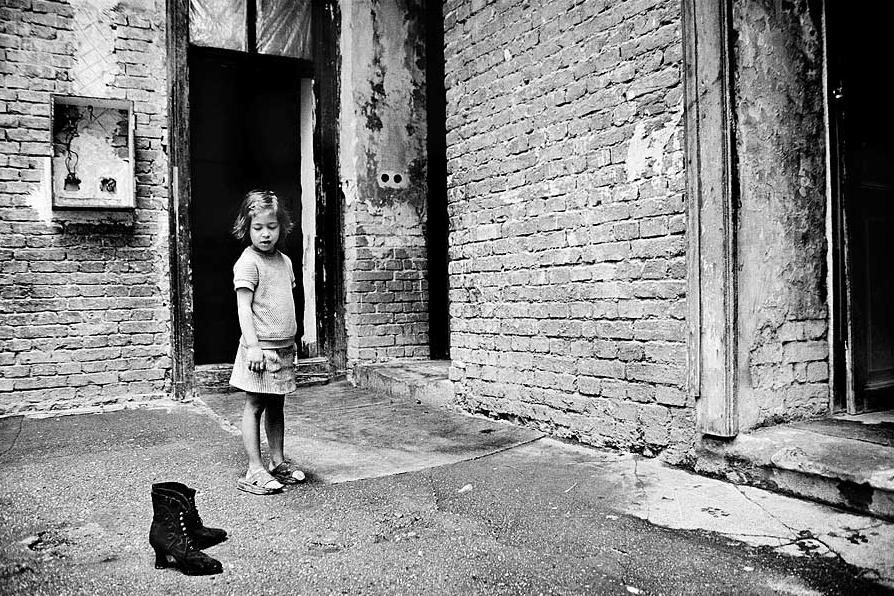 Vancsó Zoltán fényképe a Szunnyadó értelem c. kiállításról