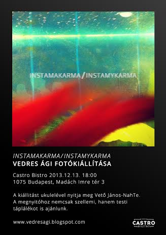 Vedres Ági kiállítás meghívó