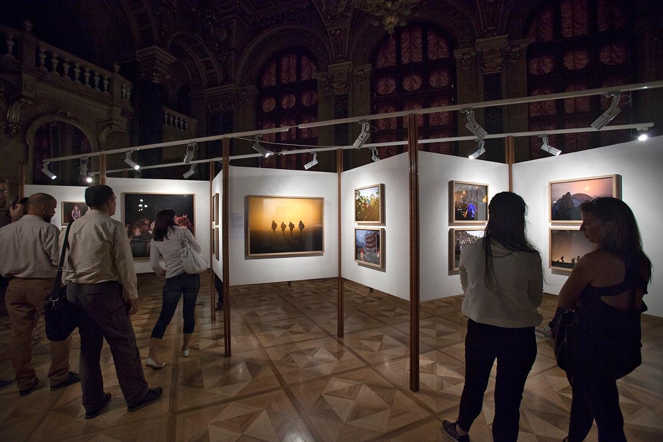 Pictorial Collective kiállítási a Néprajzi Múzeumban.