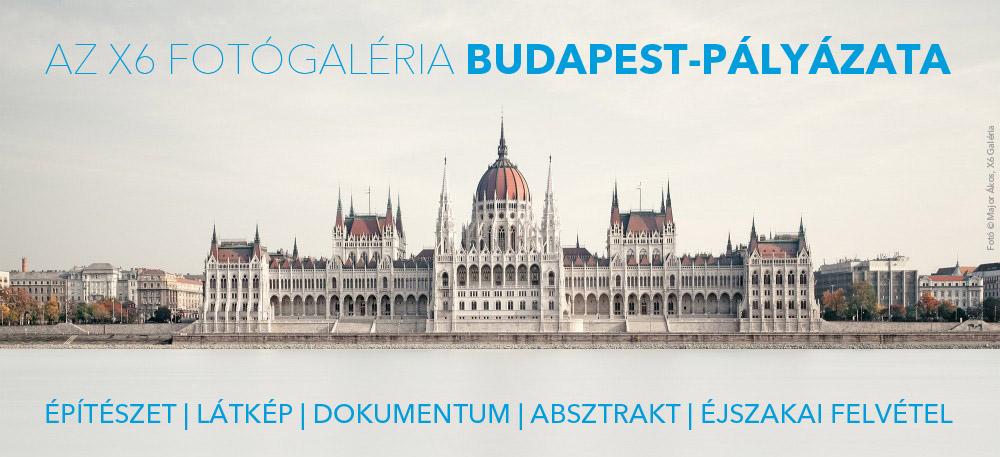 X6 Fotógaléria Budapest pályázata