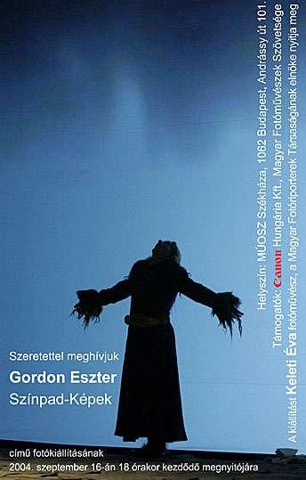 Gordon Eszter: Színpad-Képek
