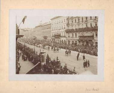 Kossuth temetése 1894. ápr. 1. Magyar Fotográfiai Múzeum tul.