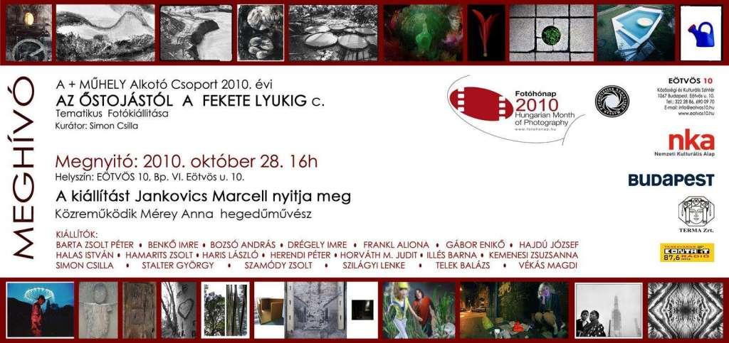 Az Őstojástól a Fekete Lyukig – a  + műhely Alkotó Csoport kiállítása az Eötvös 10-ben