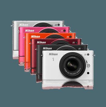 Nikon 1 J2 színválaszték