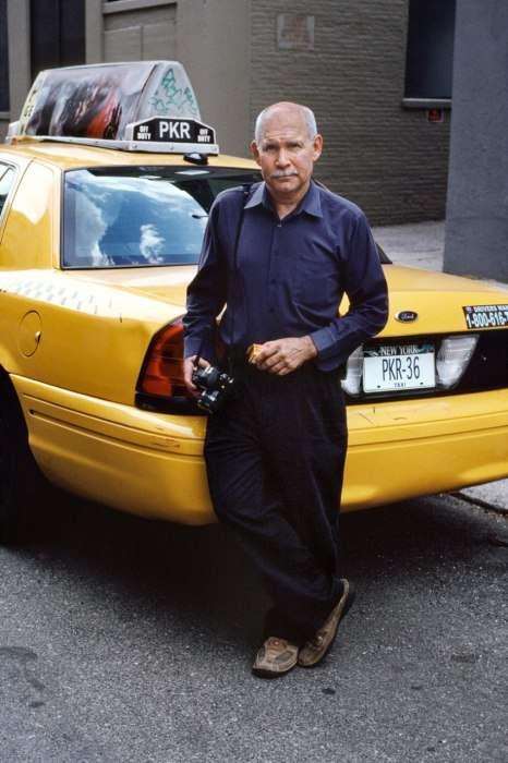 Steve McCurry önarcképe az utolsó tekercs Kodachrome filmen