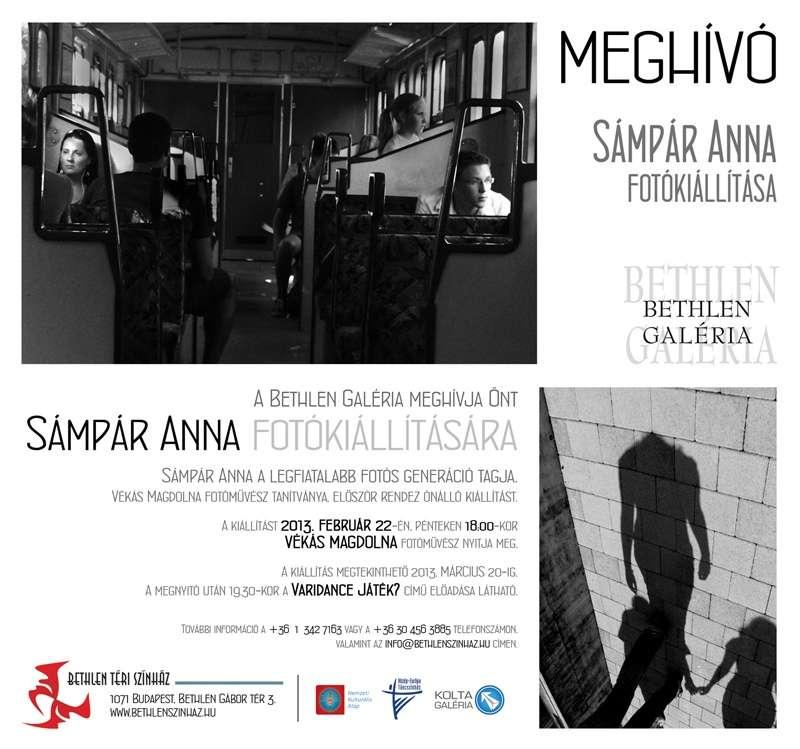 Sámpár Anna kiállítása