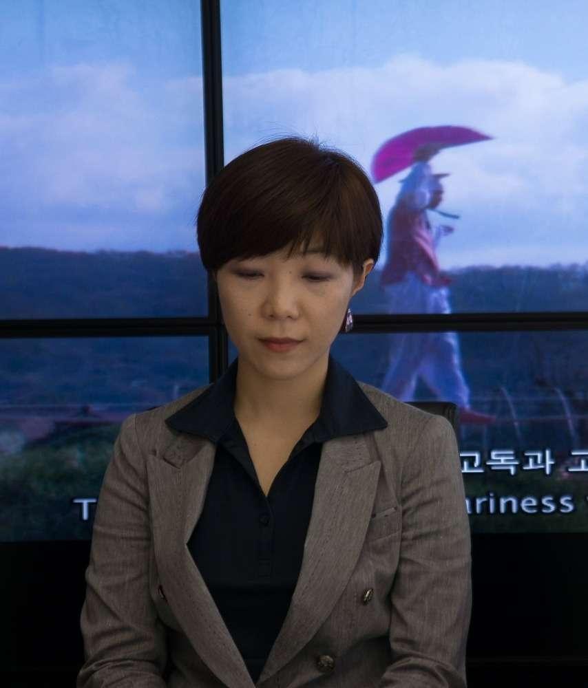Choi Seung Hyun, a Koreai Kortárs Nemzeti Múzeum programigazgatója (c) hg