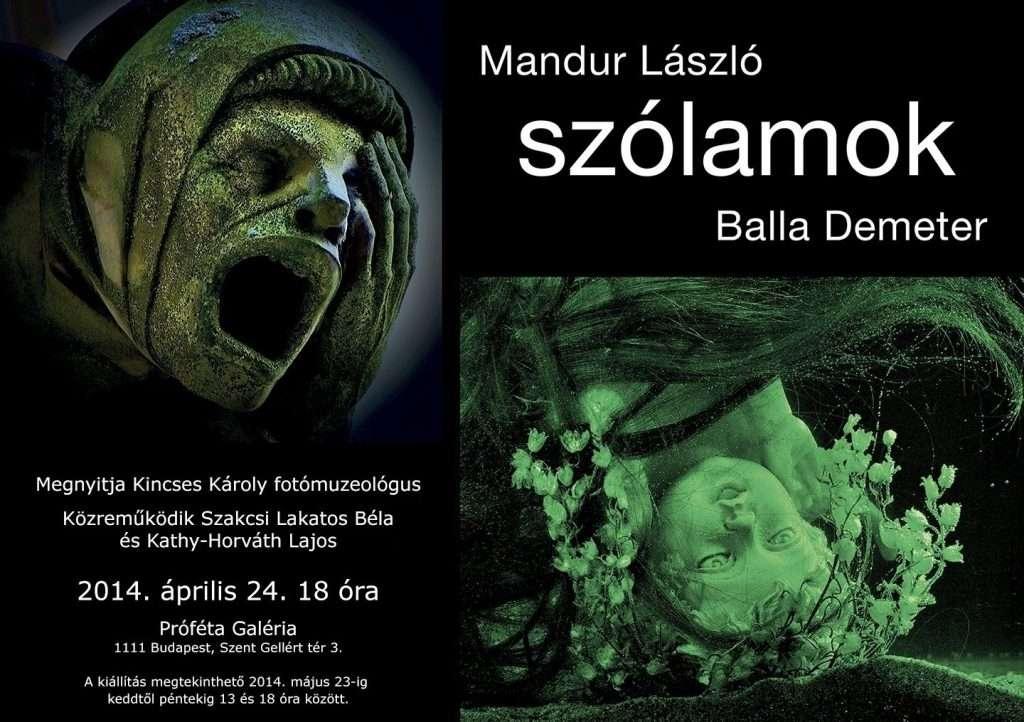 Balla Demeter – Mandur László: Szólamok