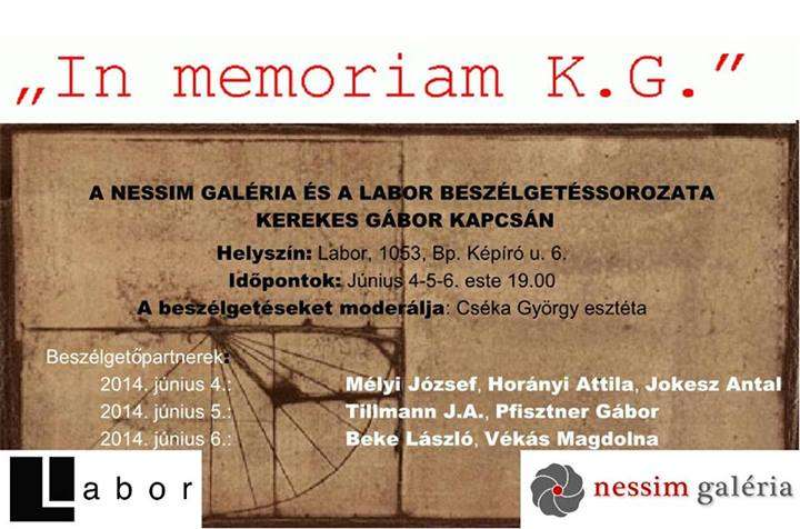 In Memoriam K.G.