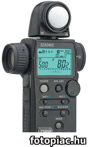 digitális fényképezőgép fénymérés ismeretek